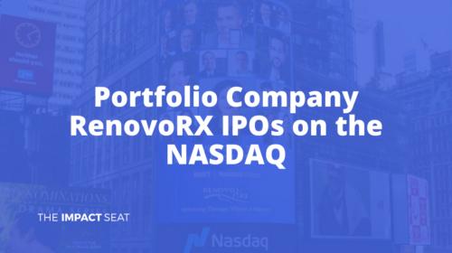 Image of Portfolio Company RenovoRX Goes Public on the NASDAQ post